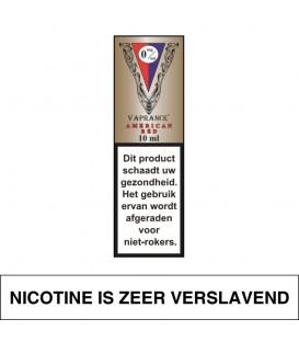 Vaprance Vip Label American Red