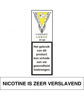 Vaprance White Label Lemon