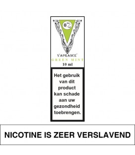 Vaprance White Label Green Mint