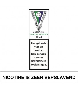 Vaprance White Label Extreme Menthol