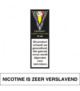 Vaprance Black Label Lemon Cola Pop