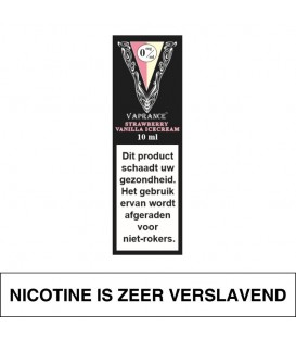 Vaprance Black Label Strawberry Vanilla Icecream