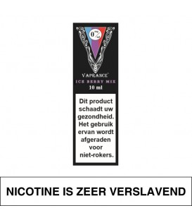 Vaprance Black Label Ice Berry Mix