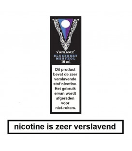 Vaprance Black Label blueberry menthol